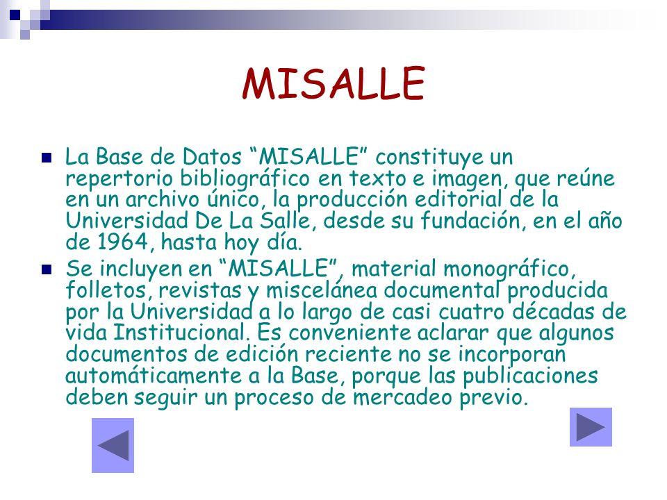 MISALLE