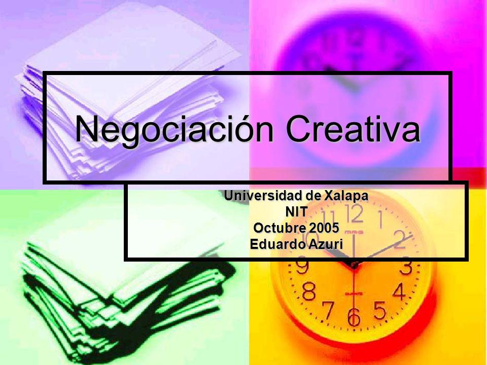 Universidad de Xalapa NIT Octubre 2005 Eduardo Azuri