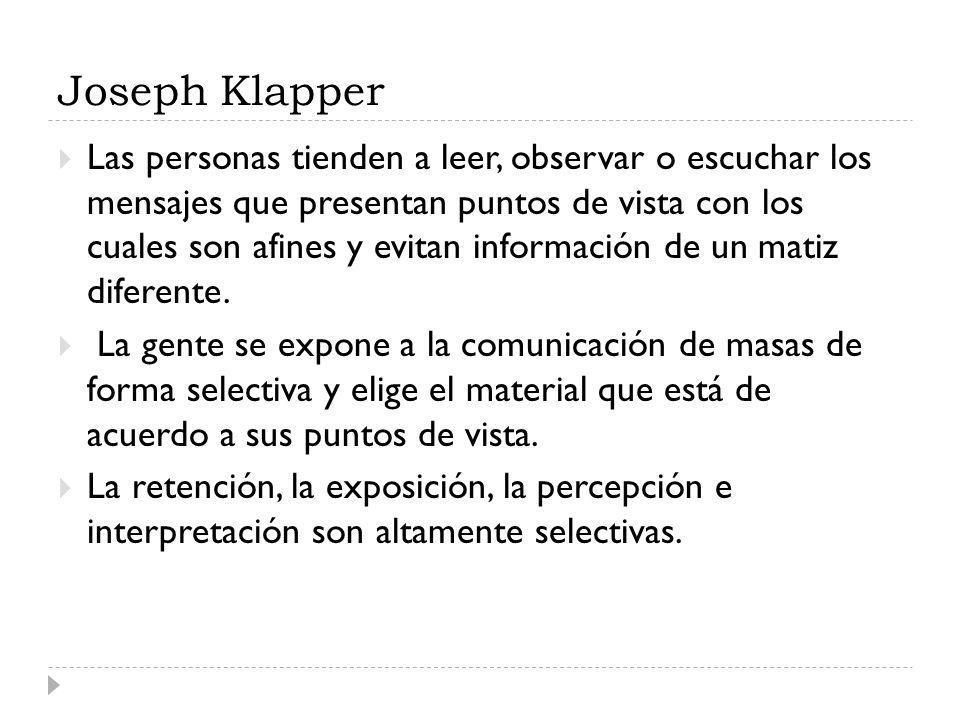Joseph Klapper