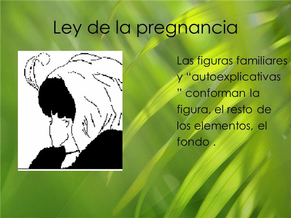 Ley de la pregnancia Las figuras familiares y autoexplicativas