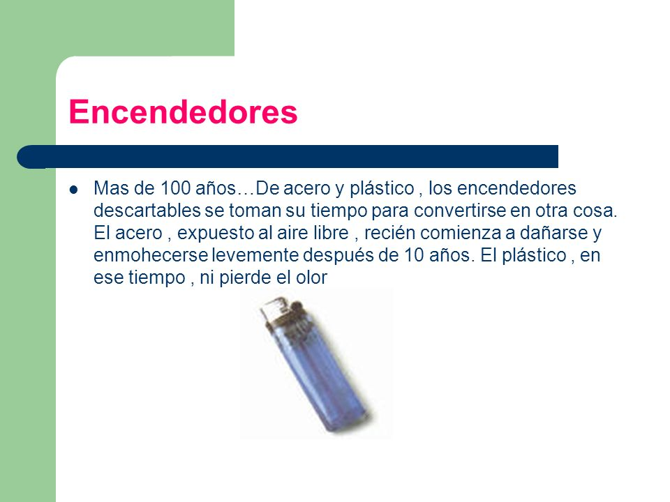 Encendedores