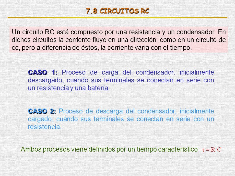 7.8 CIRCUITOS RC