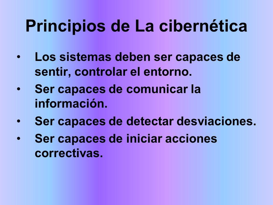 Principios de La cibernética