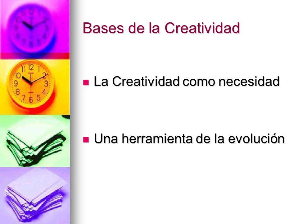 Bases de la Creatividad
