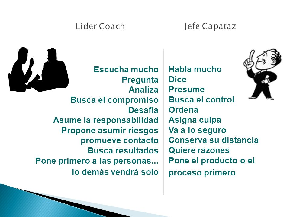 Lider Coach Jefe Capataz