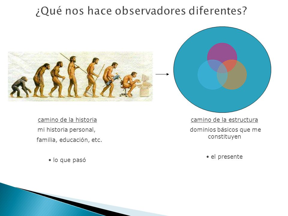 ¿Qué nos hace observadores diferentes