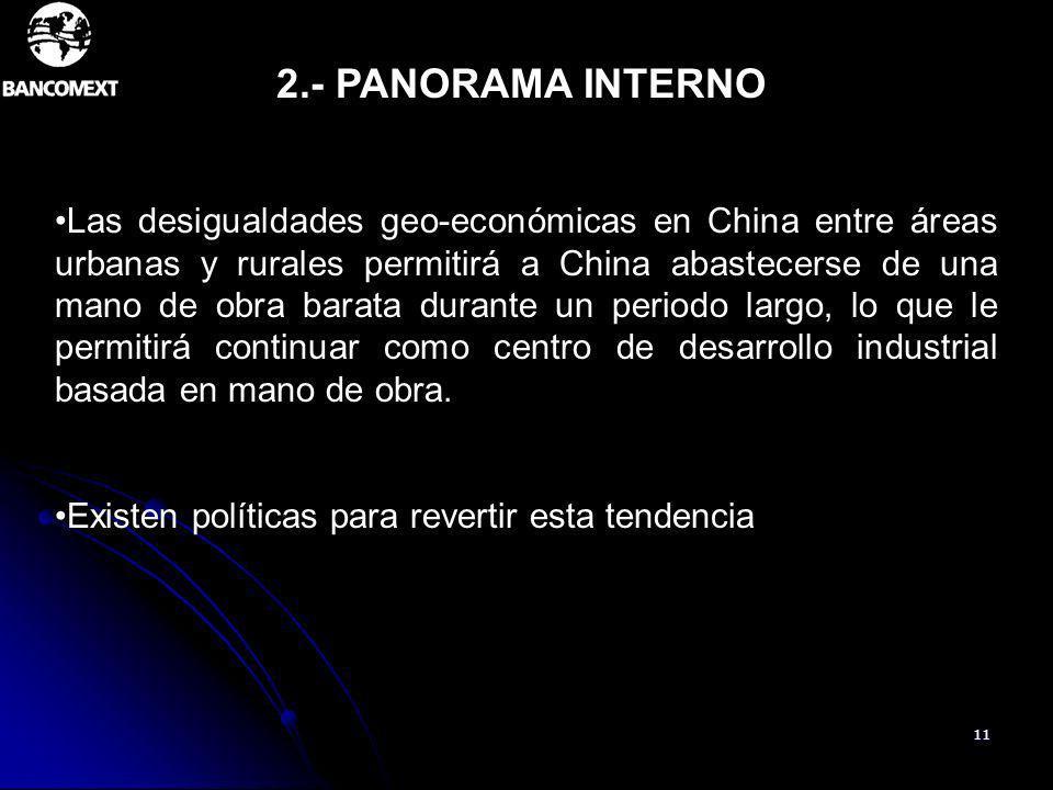 2.- PANORAMA INTERNO
