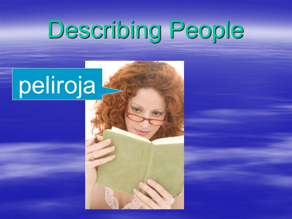 Describing People peliroja
