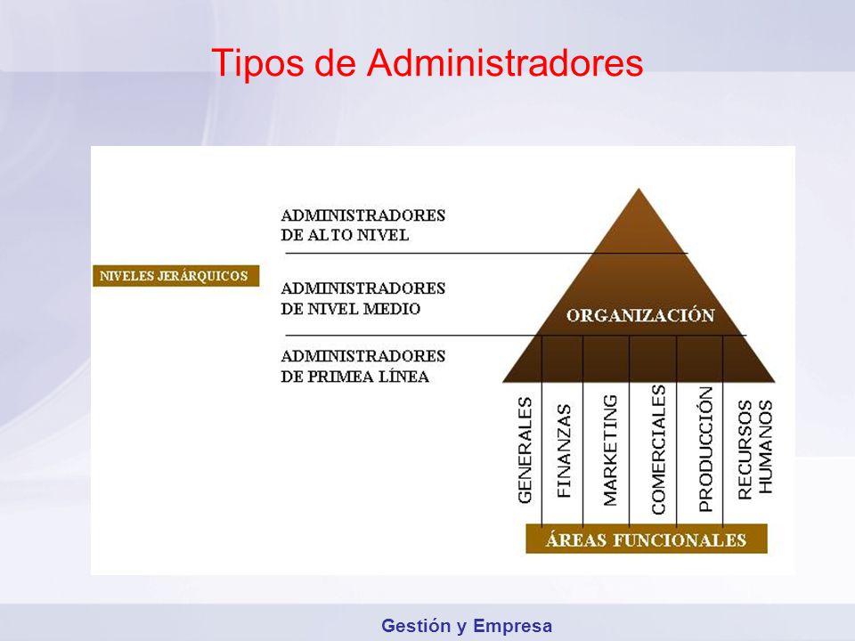 Tipos de Administradores