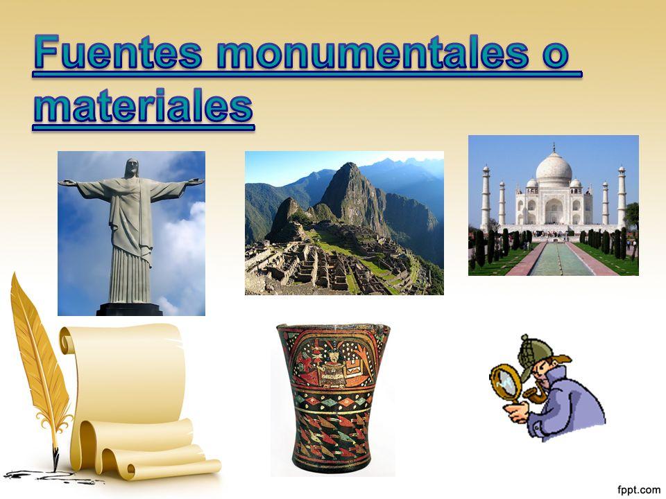 Fuentes monumentales o