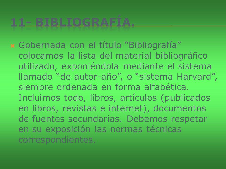 11- Bibliografía.