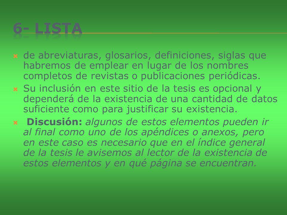 6- Lista