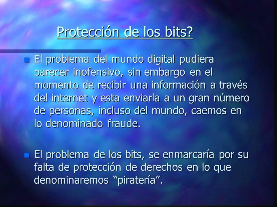 Protección de los bits