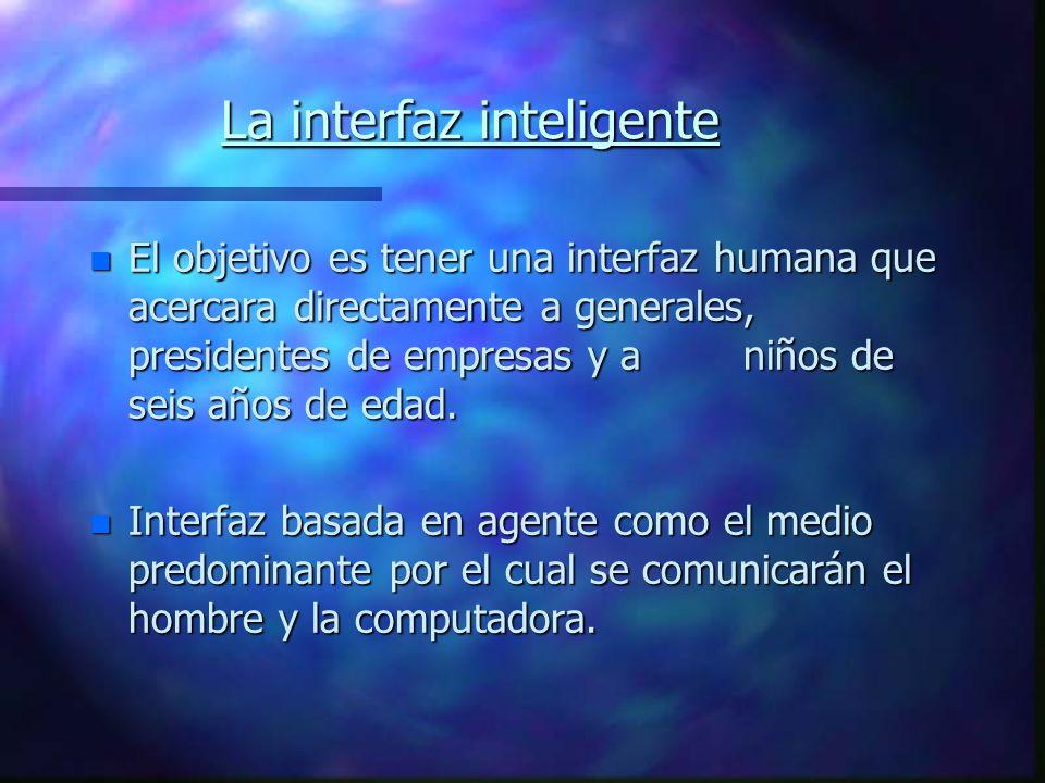 La interfaz inteligente