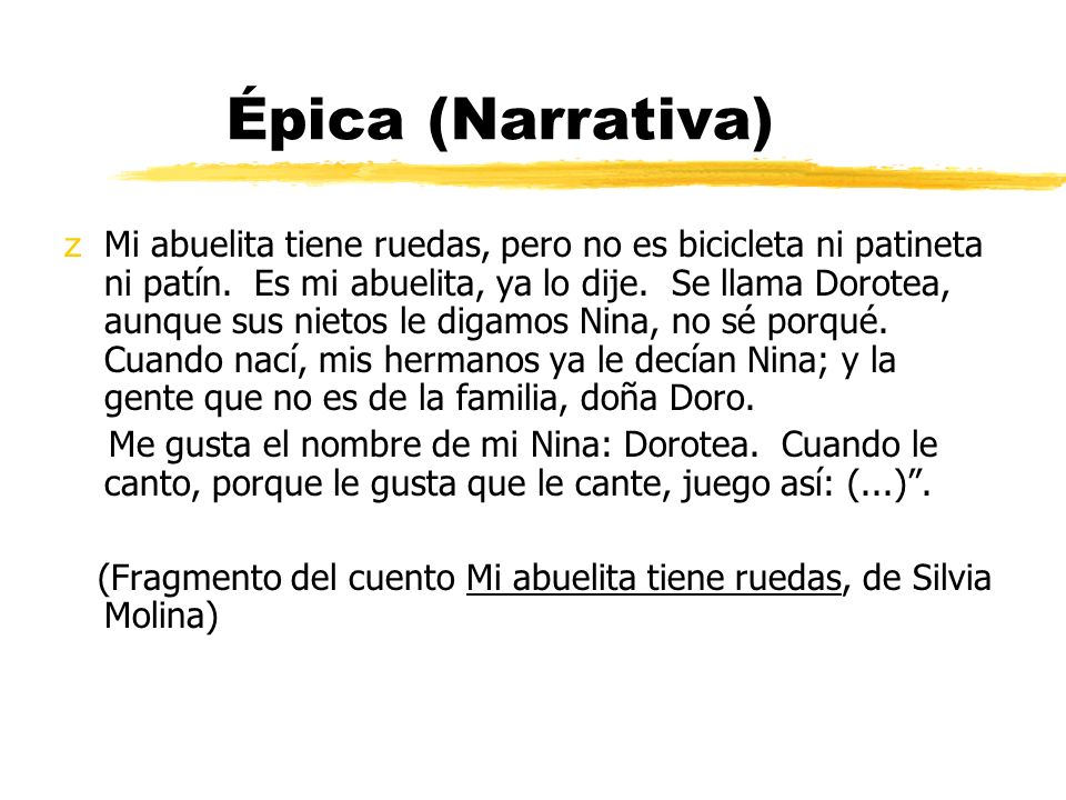 Épica (Narrativa)