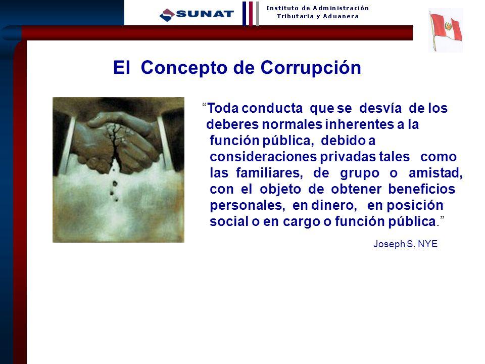 Joseph S. NYE El Concepto de Corrupción