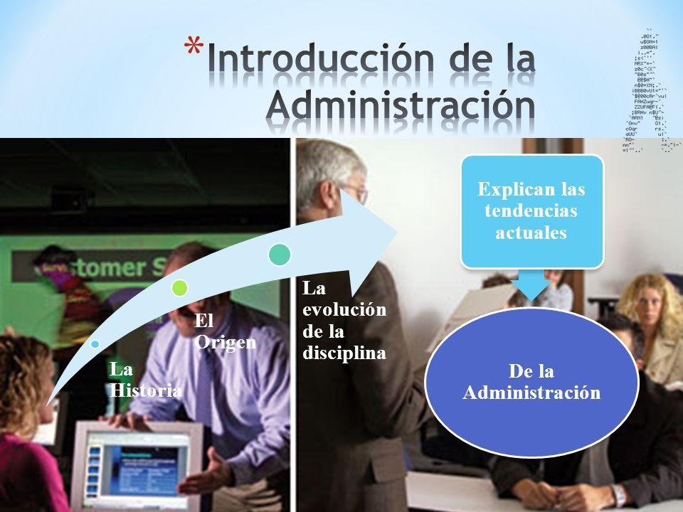 Introducción de la Administración