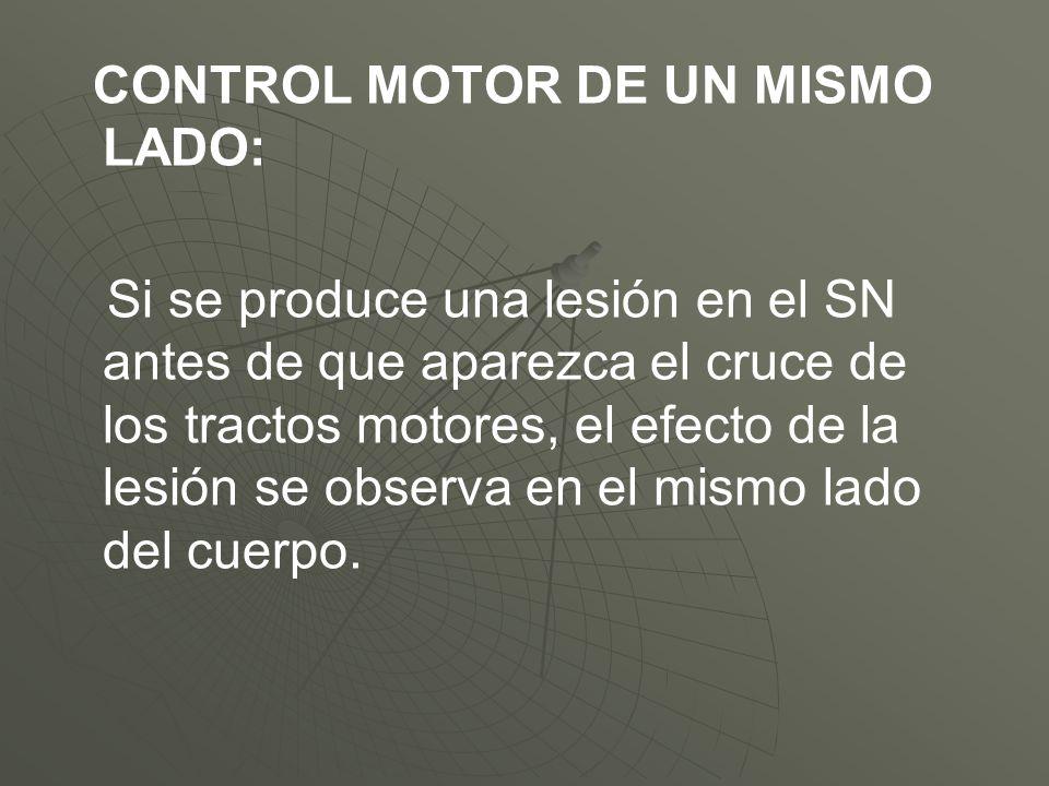CONTROL MOTOR DE UN MISMO LADO:
