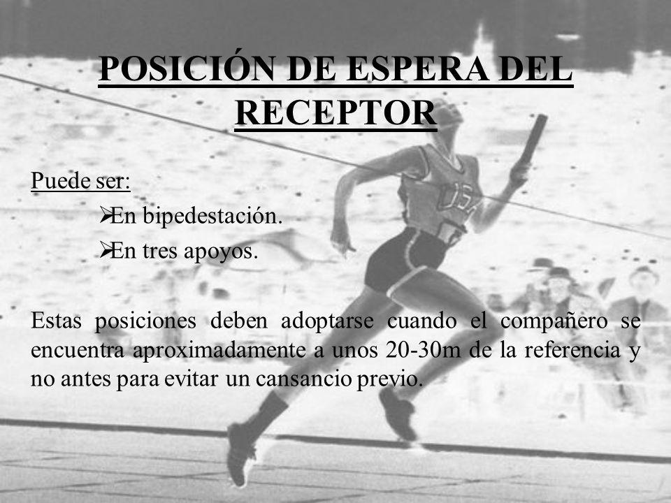 POSICIÓN DE ESPERA DEL RECEPTOR