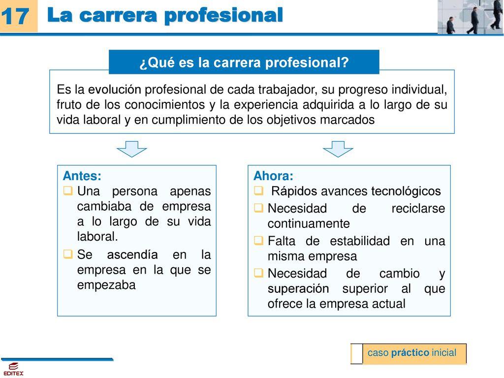 La carrera profesional - ppt descargar