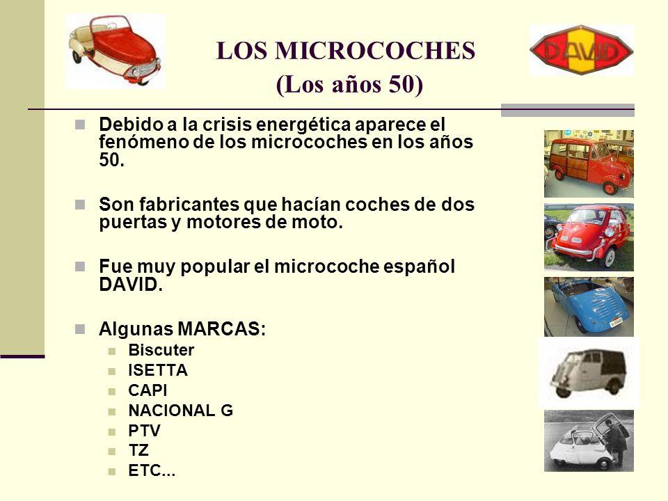 LOS MICROCOCHES (Los años 50)