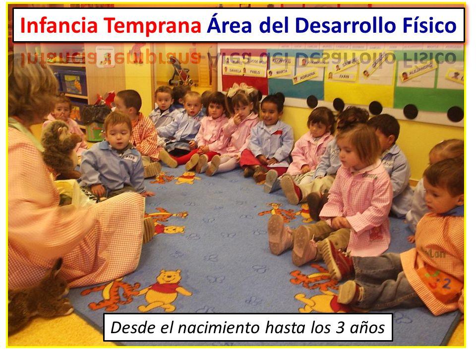 Infancia Temprana Área del Desarrollo Físico