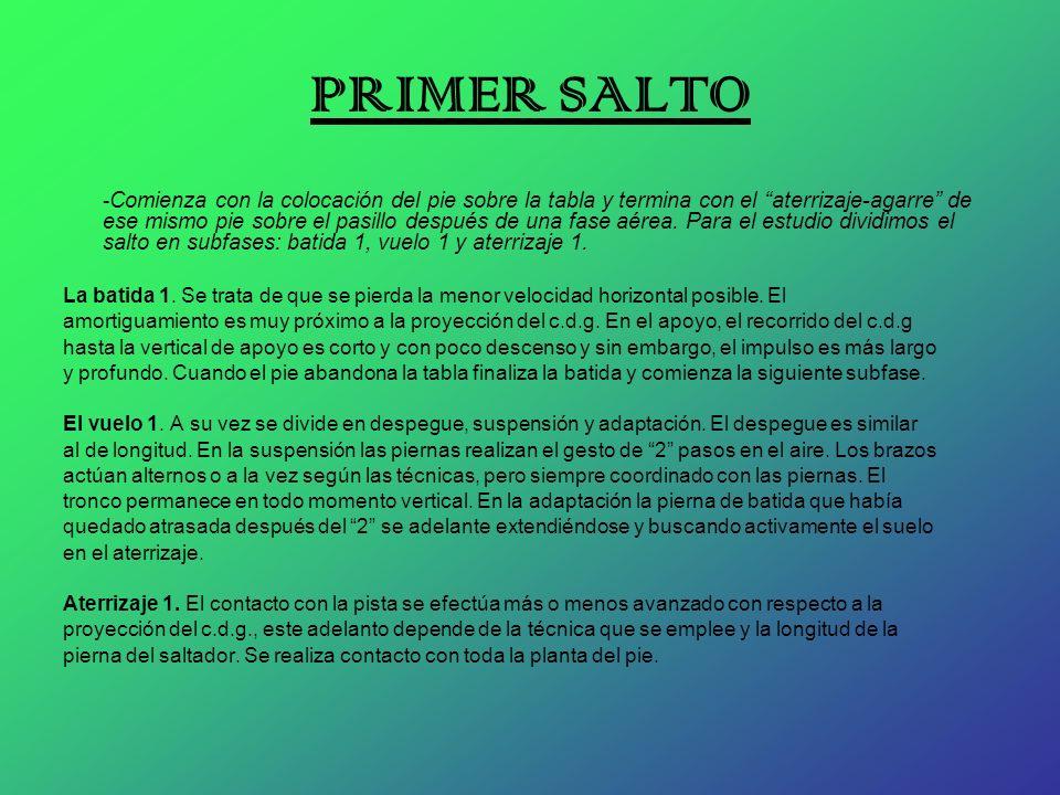 PRIMER SALTO