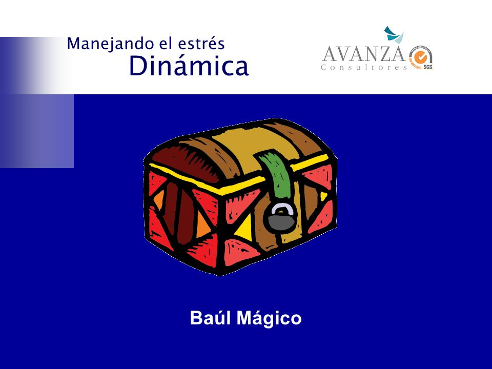 Manejando el estrés Dinámica Baúl Mágico