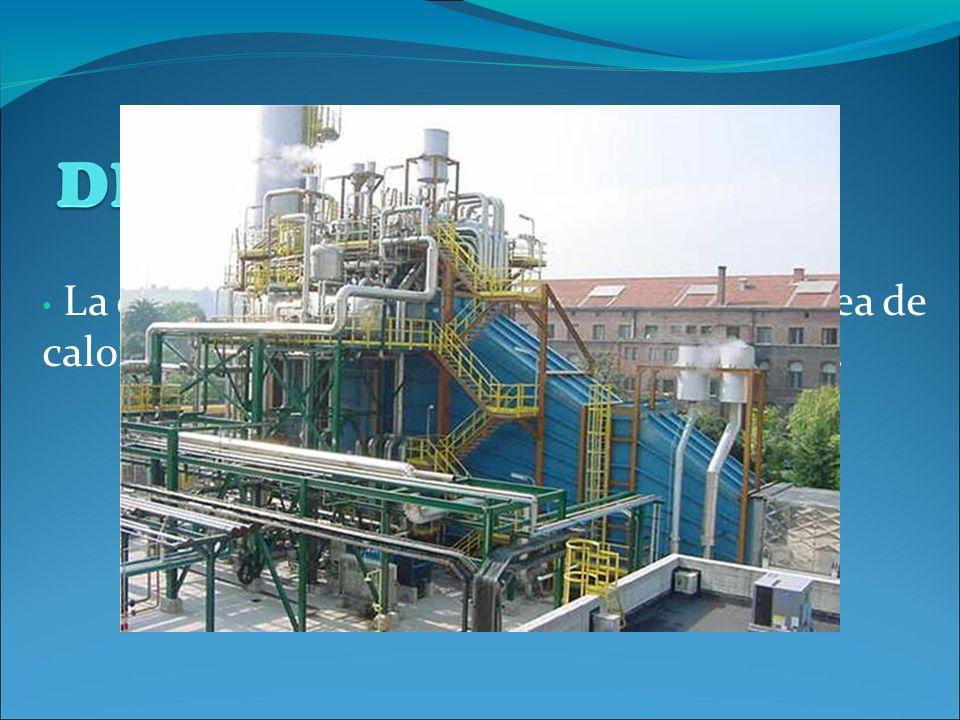 La cogeneración es la generación simultánea de calor y electricidad, aprovechándose ambas.