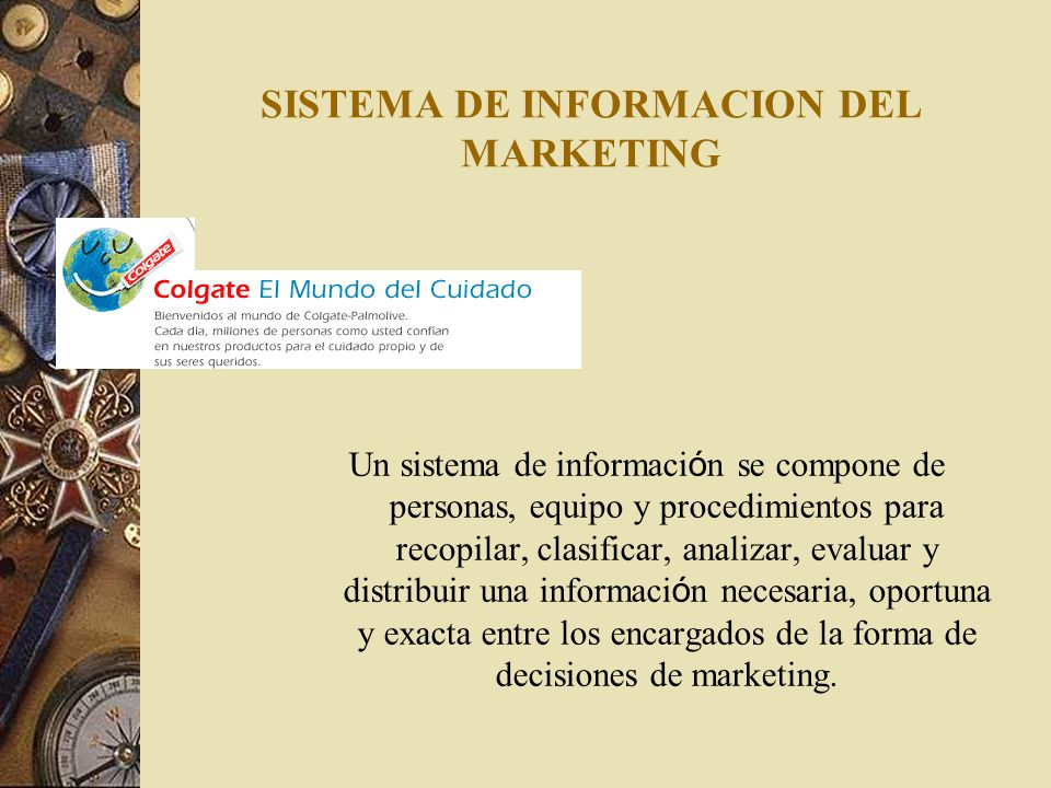 SISTEMA DE INFORMACION DEL MARKETING