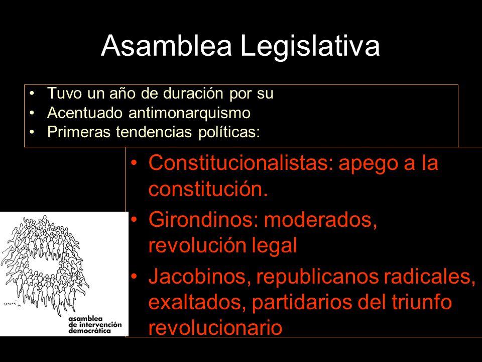 Asamblea Legislativa Constitucionalistas: apego a la constitución.