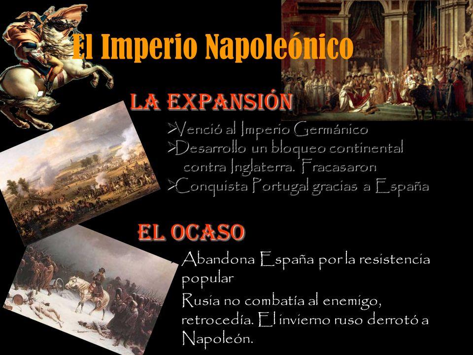 El Imperio Napoleónico