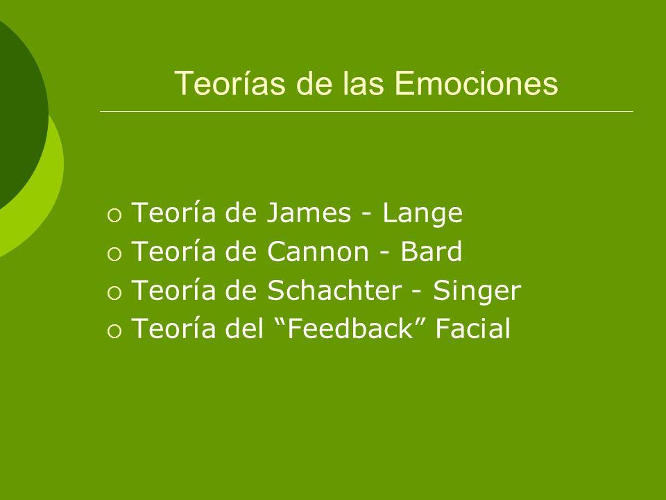 Teorías de las Emociones