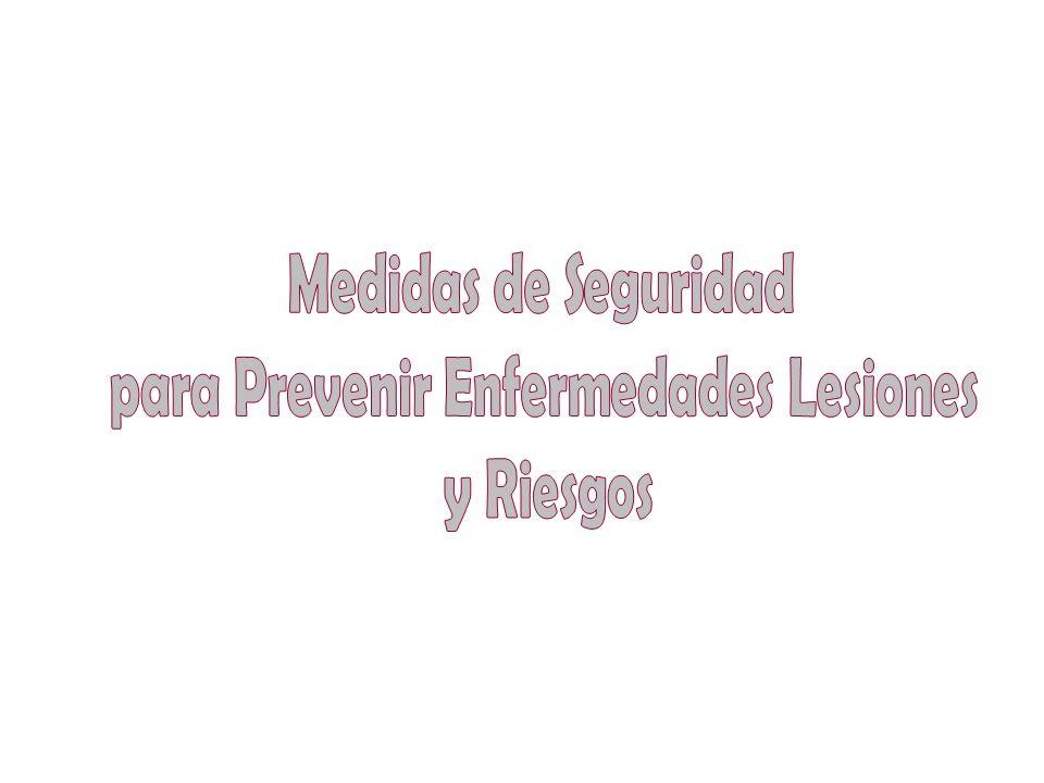 para Prevenir Enfermedades Lesiones
