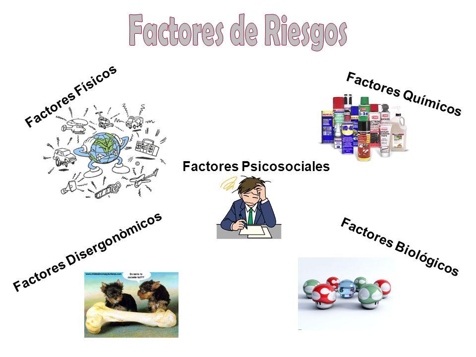 Factores de Riesgos Factores Físicos Factores Químicos