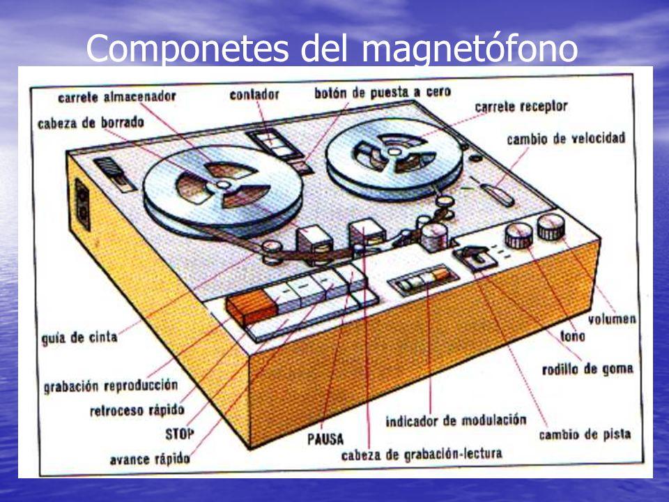 Componetes del magnetófono