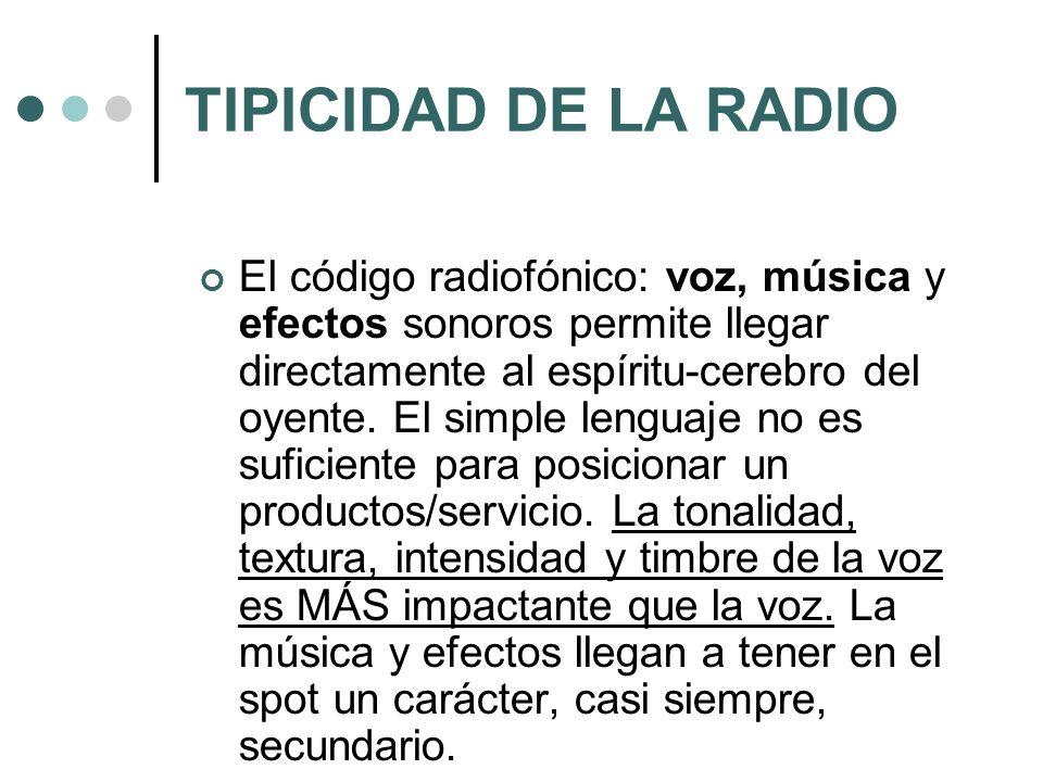 TIPICIDAD DE LA RADIO
