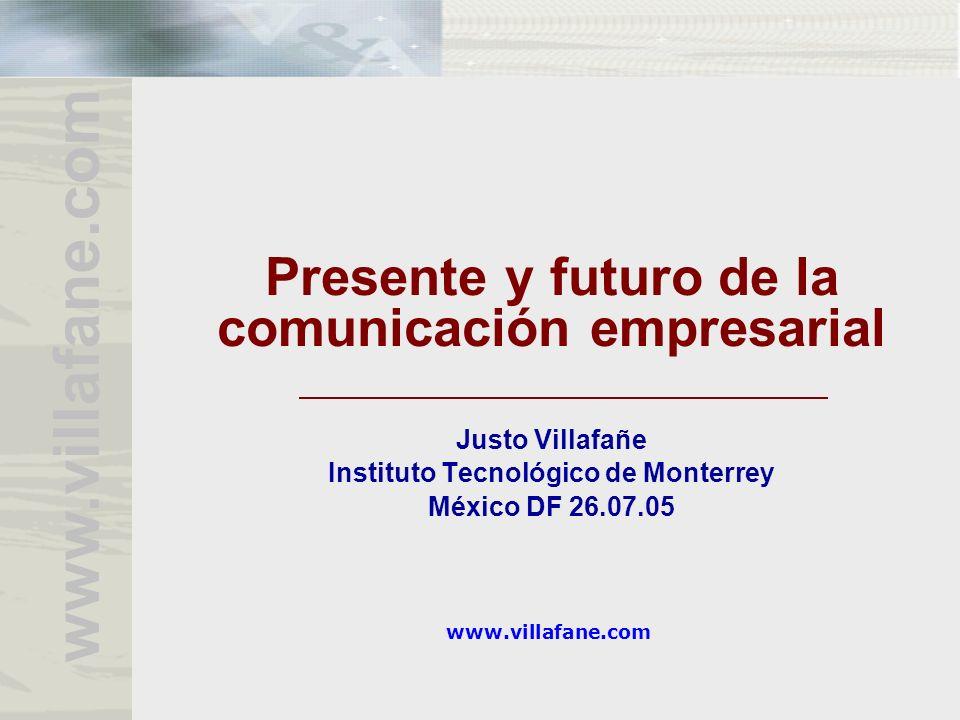 Presente y futuro de la comunicación empresarial