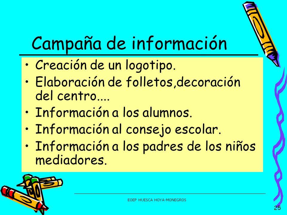 Campaña de información