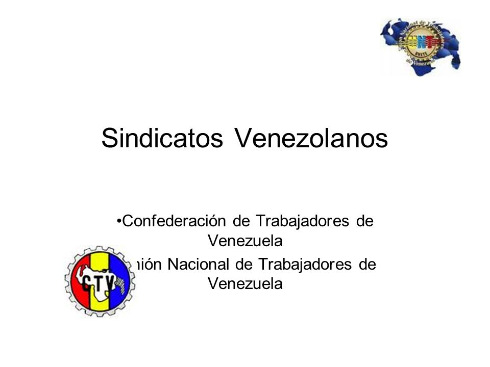 Sindicatos Venezolanos