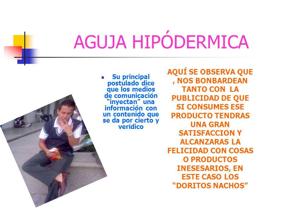 AGUJA HIPÓDERMICA