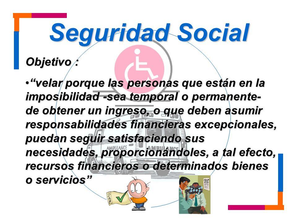 Seguridad Social Objetivo :