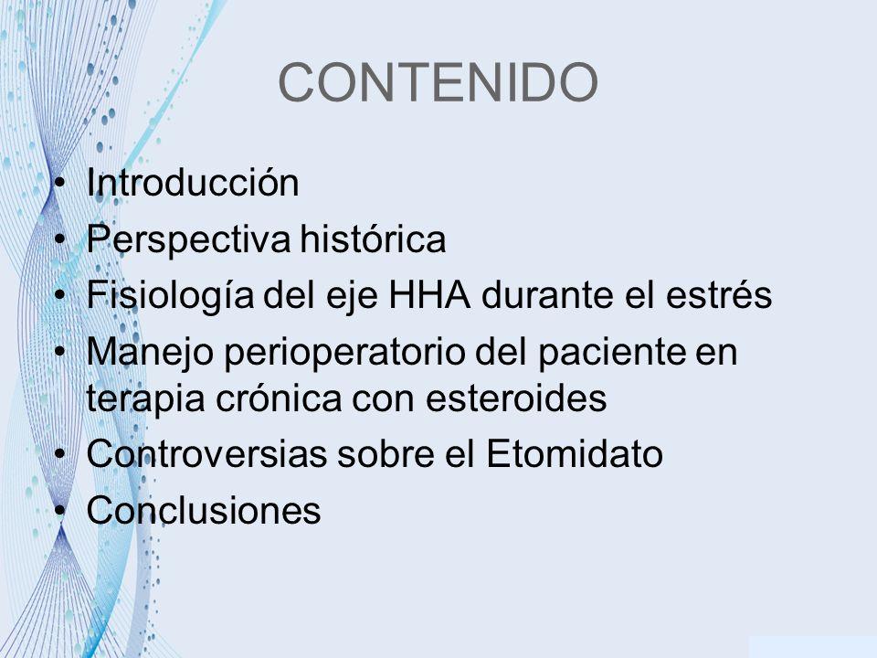CONTENIDO Introducción Perspectiva histórica
