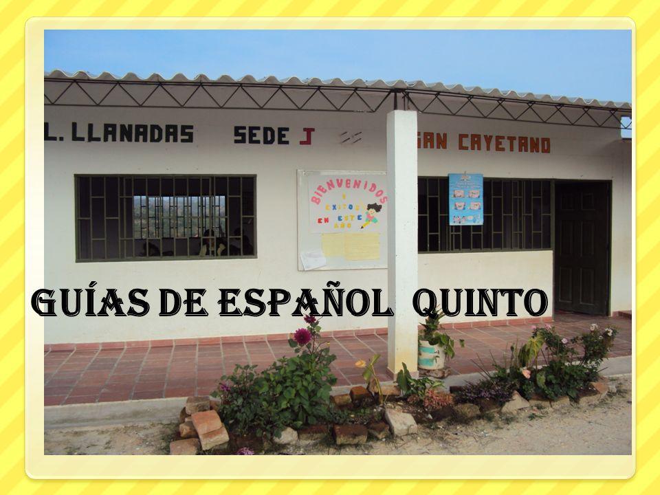 guías de español quinto