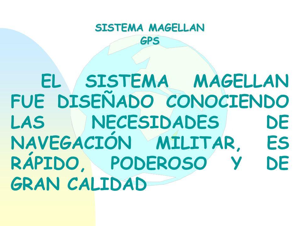 SISTEMA MAGELLAN GPS.