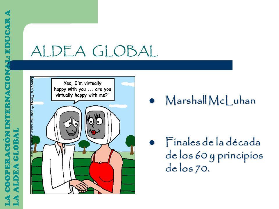 ALDEA GLOBAL Marshall McLuhan