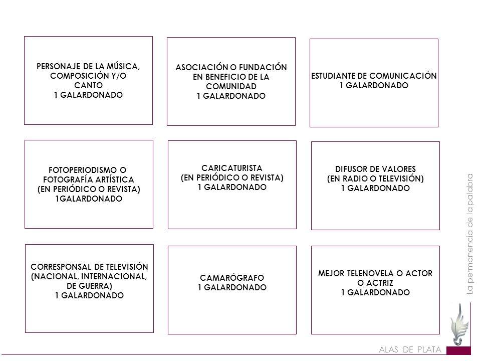 ASOCIACIÓN O FUNDACIÓN EN BENEFICIO DE LA COMUNIDAD 1 GALARDONADO