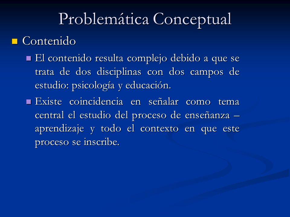 Problemática Conceptual