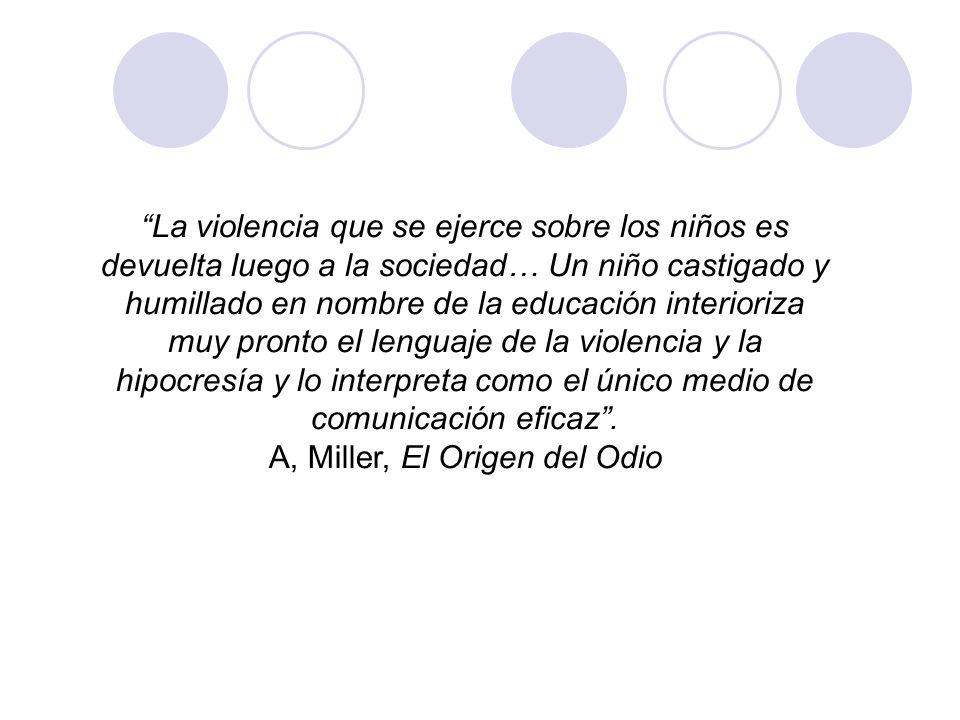 A, Miller, El Origen del Odio