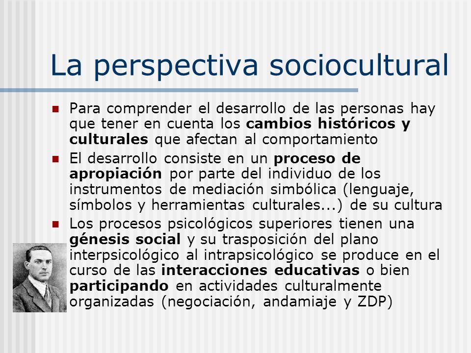 La perspectiva sociocultural